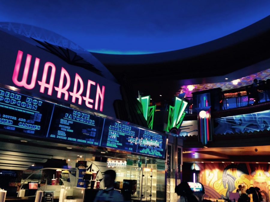 The+Warren+Theatre+shines+with+vibrant+colors